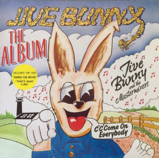 Jive Bunny And The Mastermixers ‎- Jive Bunny: The Album (LP) (VG+/VG+)
